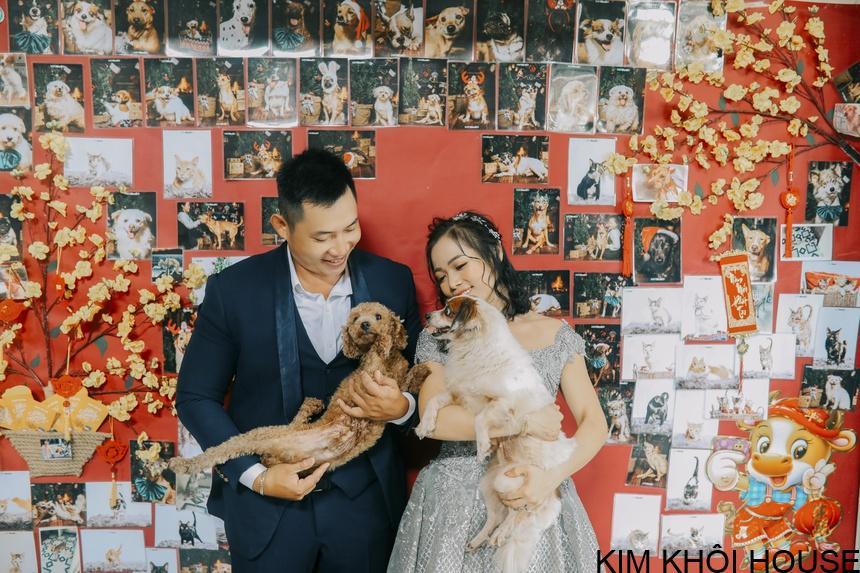 Chụp hình cưới với hơn 300 thú cưng