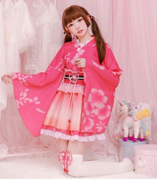 kimono hong ngan 1