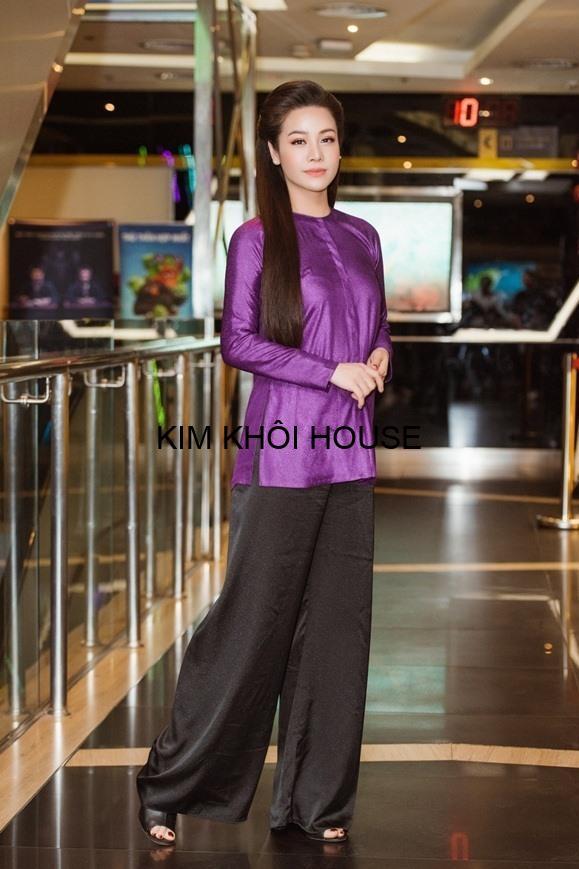 Nhật Kim Anh mặc áo bà ba đẹp (kim khôi shop)