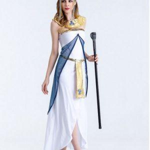 Trang phục Nữ hoàng Ai Cập Trắng