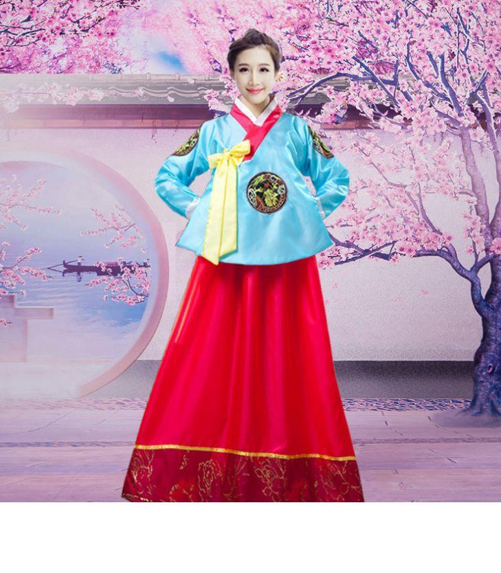 Hanbok nữ váy hồng