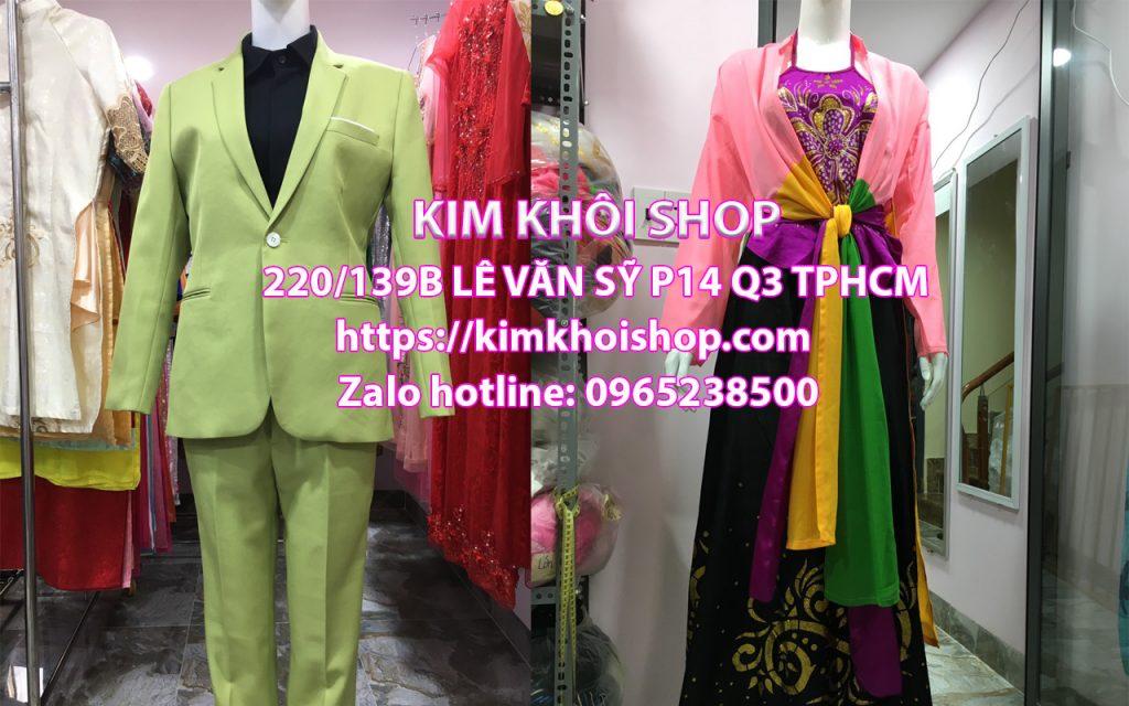 Dịch vụ cho thuê trang phục hơn 15 năm kinh nghiệm ở TP.HCM