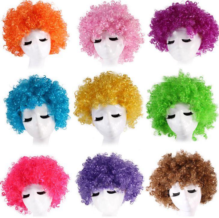 Tóc xù trẻ trung cosplay nhiều màu