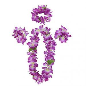 Vòng hoa Hawaii màu sắc rực rỡ