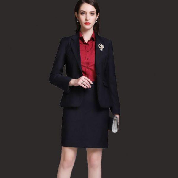 Áo vest nữ đen