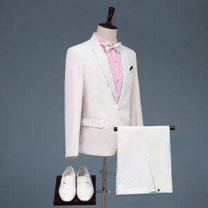 Áo vest nam trắng