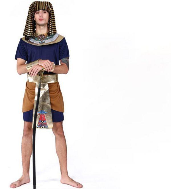 Trang phục Pharaoh Ai Cập Xanh