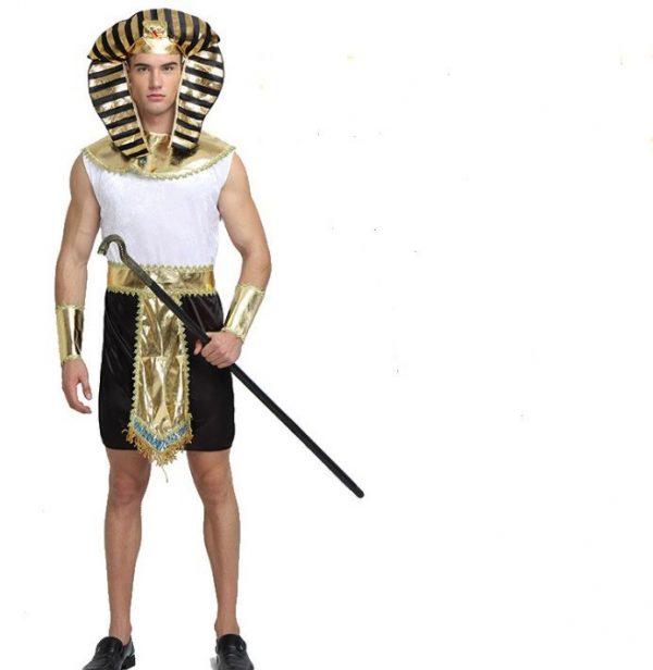 Trang phục Pharaoh Ai Cập Trắng Đen