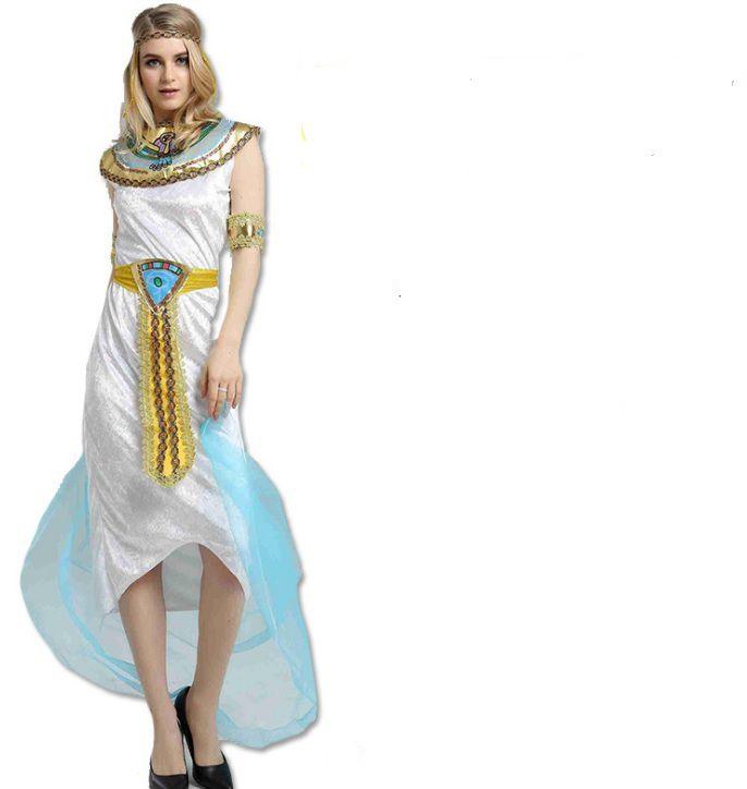 Trang phục Pharaoh Ai Cập Trắng